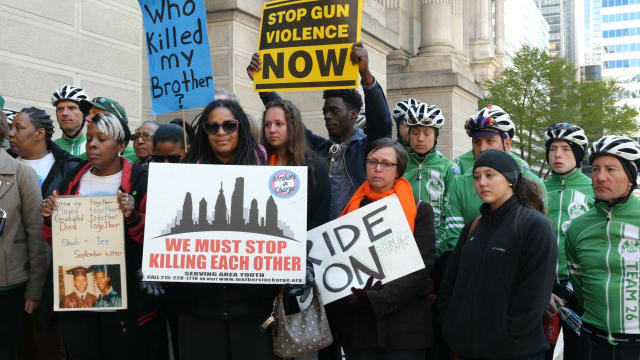 Team 26 members rally for gun control in Philadelphia