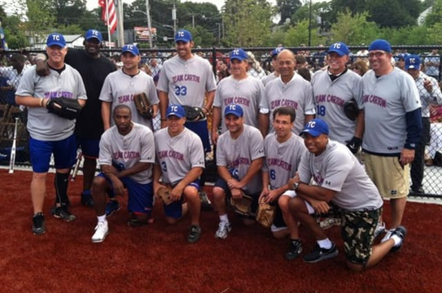 WFAN All-Stars Celebrity Softball Game was held last year in New Rochelle for the first time. (File Photo from 2012 event)