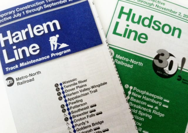 Harlem Line and Hudson Line train schedules will be changed for Westchester train commuters.
