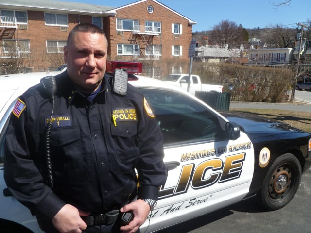 Hastings Police Chief Anthony Visalli took over as chief in February 2014.