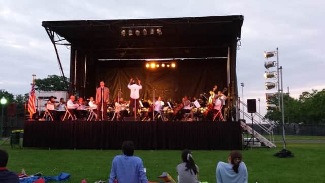 The St. Thomas Orchestra will perform at Harbor Island Park in Mamaroneck.