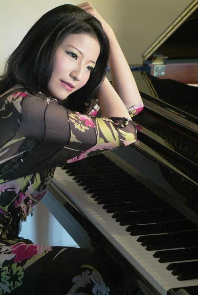 Pianist Tienni Chen will perform at the Pound Ridge Library on Sunday afternoon.