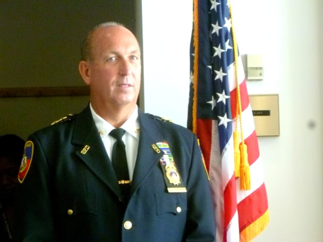 Police Chief Jonathan Fontneau will hold five more meetings with the Stamford community after one scheduled for Wednesday was canceled.